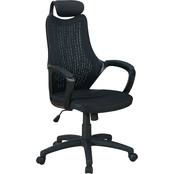 National Brand Office Chair with 5 Star Base and Adjustable Height