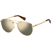 Marc Jacobs 240/S Aviator Metal Sunglasses MARC240S03YG