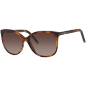Marc Jacobs 79/S Square Plastic Sunglasses MARC79S005L
