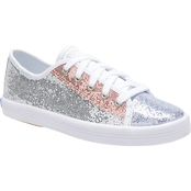 Keds Girls Kickstart Sparkle Sneakers