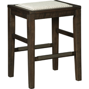 Signature Design by Ashley Hallishaw Upholstered Counter Stool