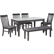 Benchcraft Luvoni 6 pc. Dining Set