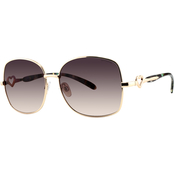 Juicy Couture Metal Square Sunglasses 66398147