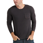 Lucky Brand LS Sunset Pocket Tee