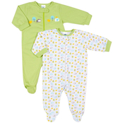 Gerber Infants Zip Front Sleep N Play Outfits 2 Pk., 6-9 Months