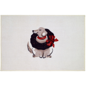 Avanti 20 x 30 in. Holiday Dogs Rug