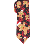 Knotty & Nice Gingerbread Man Musical Tie