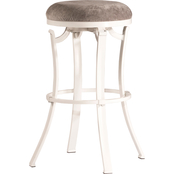 Hillsdale Kelford Swivel Backless Counter Stool