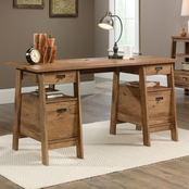 Sauder Trestle Executive Desk