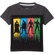 Marvel Toddler Boys Justice League Yoke Tee