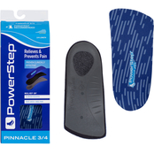 Powerstep SlimTech 3/4 Length Orthotic Arch Support Insoles