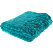 Lavish Home Chenille Throw Blanket