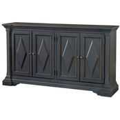Bassett Antiquities Argyle Four Door Cabinet