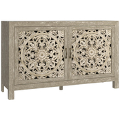 Bassett Antiquities Fusion Two Door Cabinet