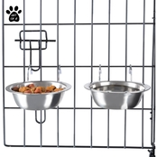 Petmaker Stainless Steel Hanging Bowl 2 pc. Set
