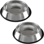 Petmaker Stainless Steel Pet Bowls 2 pc. Set