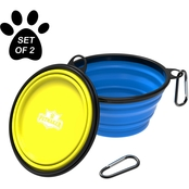 Petmaker Collapsible Silicone Pet Bowls 32 oz.