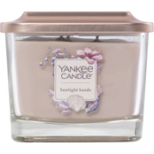 Yankee Candle Elevation Sunlight Sands Medium 3 Wick Square Jar Candle