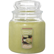 Yankee Candle Fresh Lime and Cilantro Medium Jar Candle