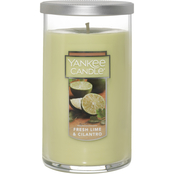 Yankee Candle Fresh Lime and Cilantro Medium Perfect Pillar Candle