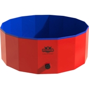 Petmaker Collapsible Pet Dog Pool and Bathing Tub