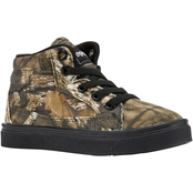 Oomphies Boys Tyler Mossy Oak High Top Shoes