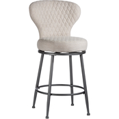 Hillsdale Furniture Melange Upholstered Swivel Counter Stool