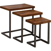 Hillsdale Furniture Emerson 3 Pc. Nesting Table Set