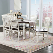 Abbyson Tamsen 7 pc. Dining Set