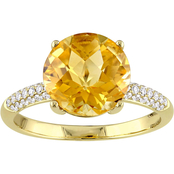 Sofia B. 14K Yellow Gold 1/5 CTW Diamond Beaded Ring