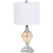Abbyson Paris Glass Table Lamp