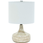 Abbyson Noreen Mercury Gourd Table Lamp