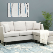 Abbyson Harrison Fabric Sectional