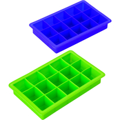 Farberware Colourworks Set of 2 Silicone Ice Cube Trays