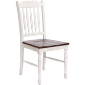 Abbyson Tamsen Blana 2 pc. Farmhouse Dining Chair Set