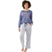 Sleep Zenista Raglan Top and Pants 2 pc. Set
