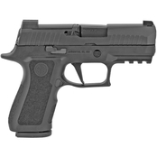 Sig Sauer P320 X-Compact 9mm 3.6 in. Barrel Optics Ready 15 Rnd Pistol Black