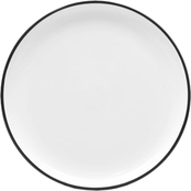 Noritake Colortex Stone 7 1/2 in. Stax Salad Plate, Black