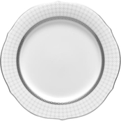 Noritake Rochester Platinum 9 in. Accent Plate