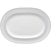 Noritake Linen Road 14 in. Oval Platter