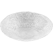 Noritake Hammock Glass 13 in. Round Bowl