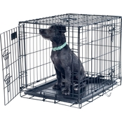 Petmaker Medium 2 Door Foldable Dog Crate Cage