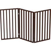 Petmaker 3 Panel Tall Foldable Wooden Pet Gate