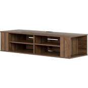 South Shore City Life 48 in. Wall Mounted Media Console
