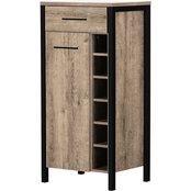 South Shore Munich Bar Cabinet with Storage