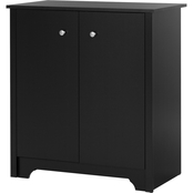 South Shore Vito Collection Small 2 Door Storage Cabinet