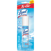 Lysol Disinfectant Spray To Go Crisp Linen 1 oz.