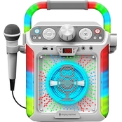 Singing Machine Groove Cube CDG Karaoke System Plus Bluetooth