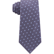 Michael Kors Outlined Pine Neat Silk Neck Tie