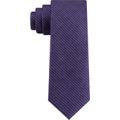 Van Heusen Chrome Thin Stripe Neck Tie